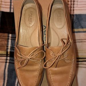 Sperry Seaport Leather Loafer Sz 9